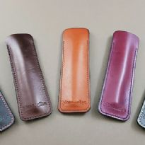 MorganEsq leather slip pen cases